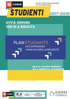 Couverture Guide Studienti - Plan Etudiants 2017-2018