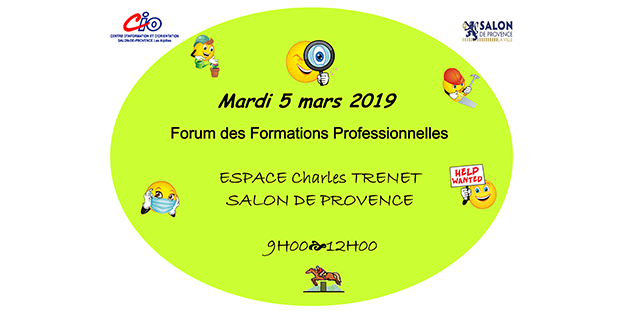 Forum des formations 2019 Salon de Provence