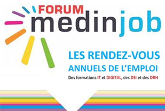 Forum IT et digital Medinjob 2017